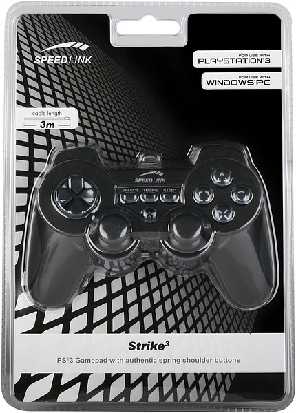 Gamepad Strike FX for PS®3 - Džojstici